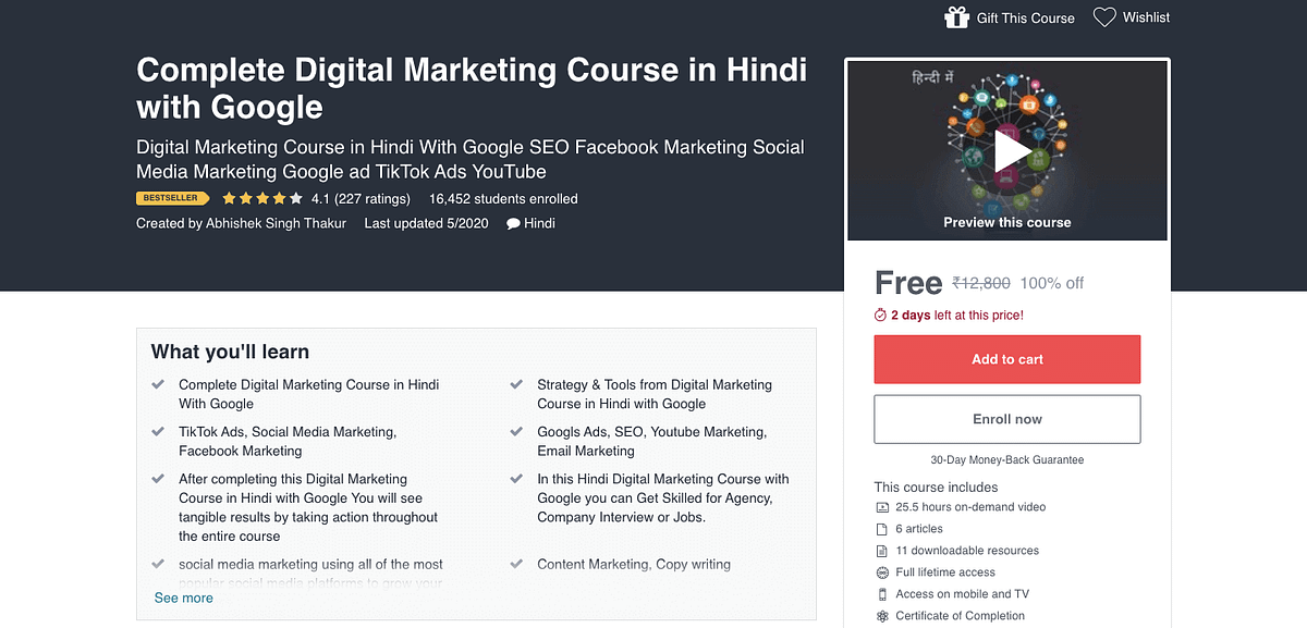 digital marketing course 5