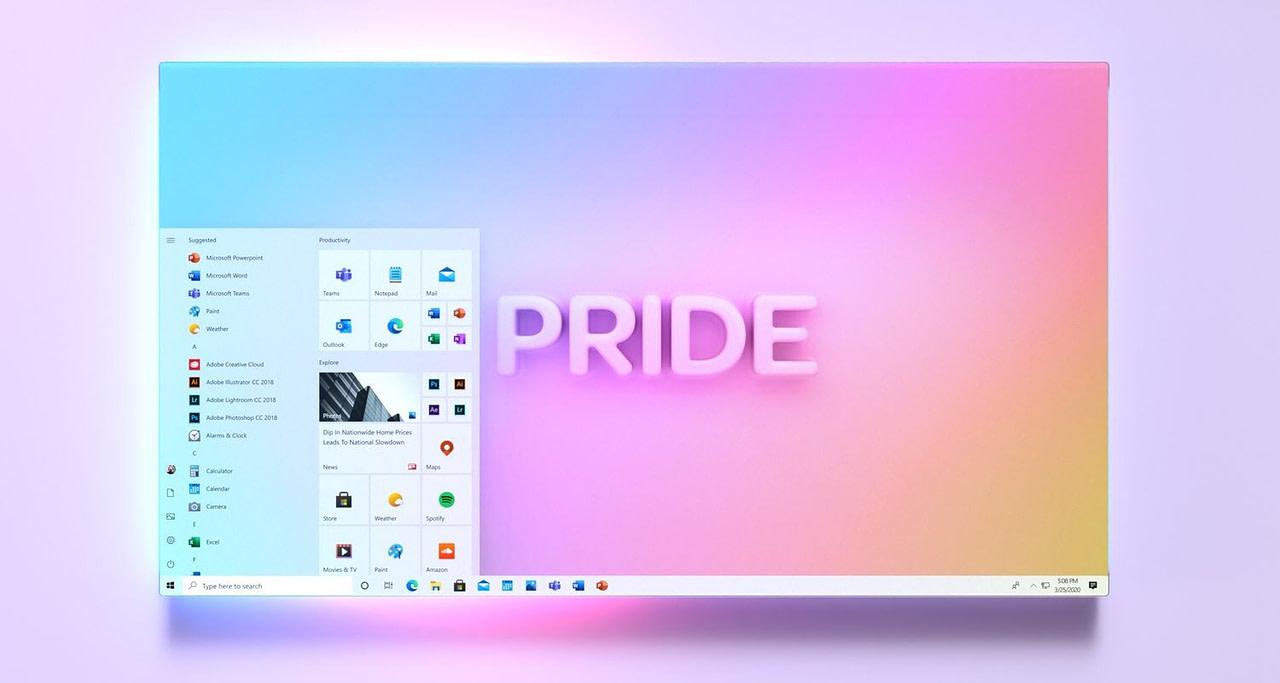 Windows 10 Redesigned Smart Menu