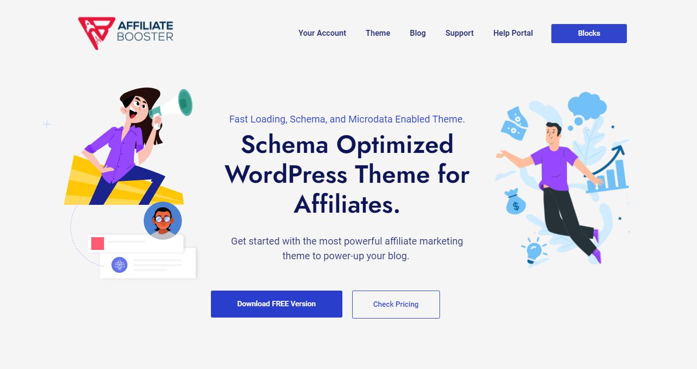 affiliate theme wordpress