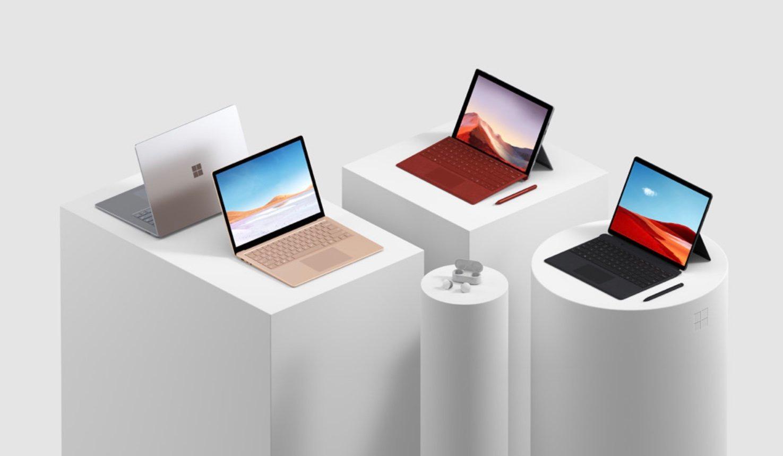 Microsoft Surface Laptops