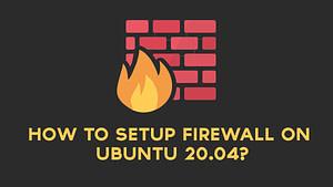 Ubuntu Firewall - TNG