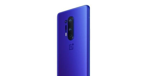 Oneplus 8 Pro UltraMarine Blue Back View