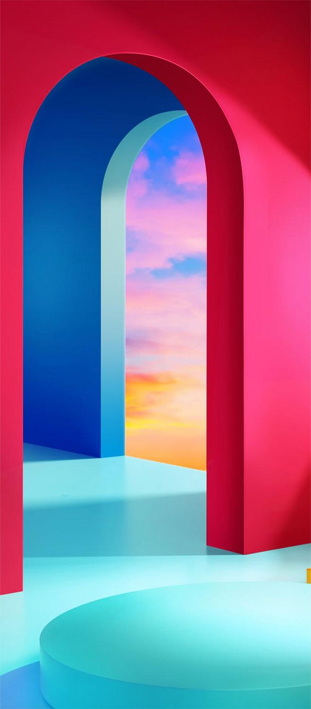 download lg velvet stock wallpapers 3