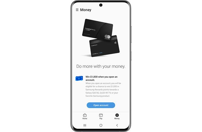 samsung money debit card 5