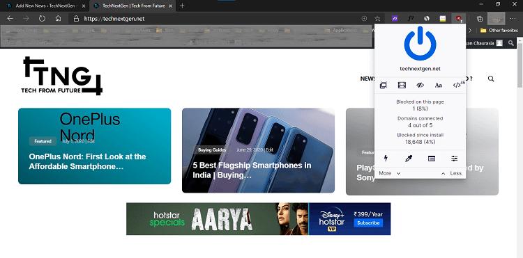 Get Safari-Like Privacy Feature in Chrome