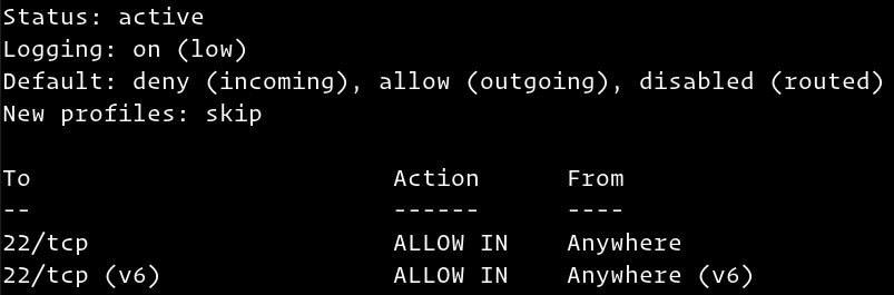setup firewall on ubuntu 20.04 3