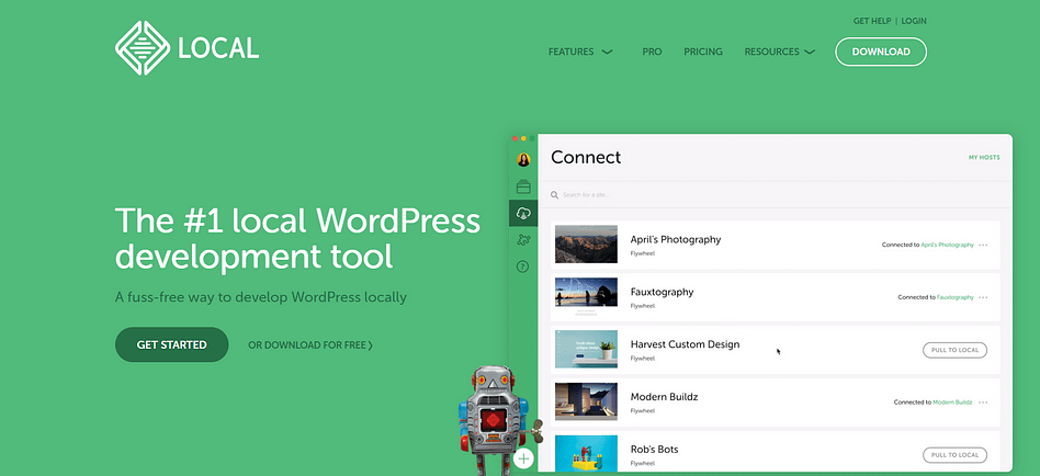 localwp by flywheel - best local development tools available for wordpress