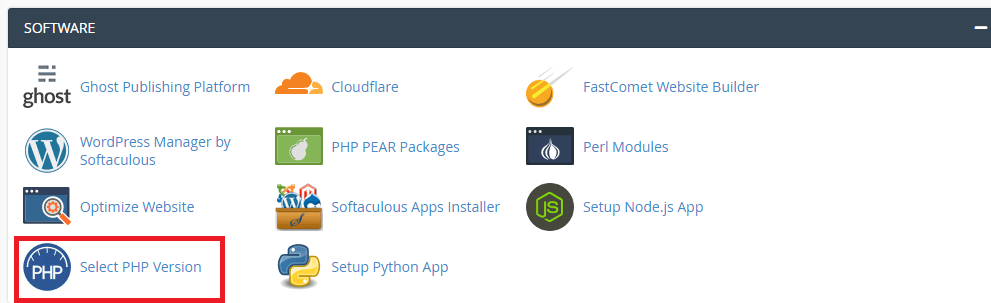cPanel PHP